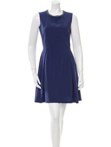 Z Spoke by Zac Posen Sleeveless Embellished Dress None