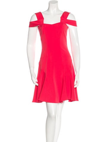 Z Spoke by Zac Posen Sleeveless Mini Dress None
