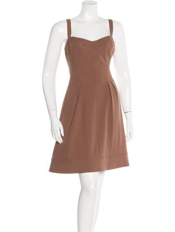 Z Spoke by Zac Posen Sleeveless Knee-Length Dress w/ Tags None