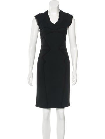 Z Spoke by Zac Posen Sleeveless Knee-Length Dress None