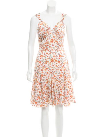 Z Spoke by Zac Posen Floral Print Flared Dress None