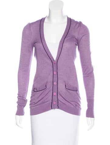 Z Spoke by Zac Posen Lightweight V-Neck Cardigan None