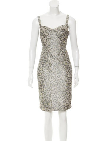 Z Spoke by Zac Posen Sleeveless Knee-Length Dress None