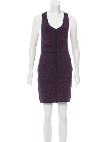 Z Spoke by Zac Posen Intarsia Knit Mini Dress w/ Tags None