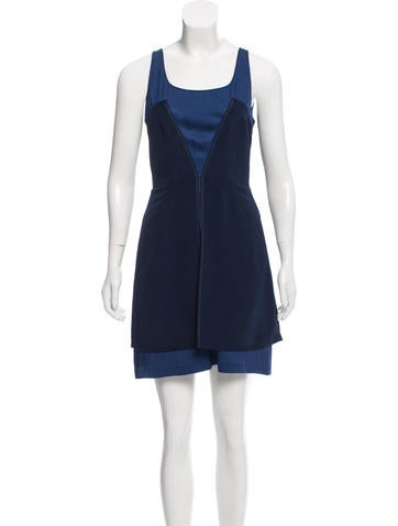 Z Spoke by Zac Posen Silk Mini Dress None