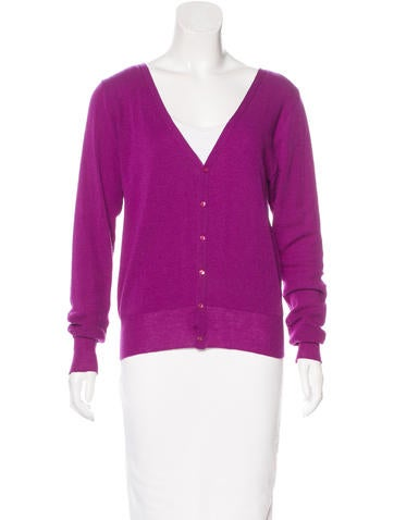 Zucca Wool Button-Up Cardigan None