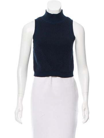 ZAC Zac Posen Cropped Sleeveless Sweater None