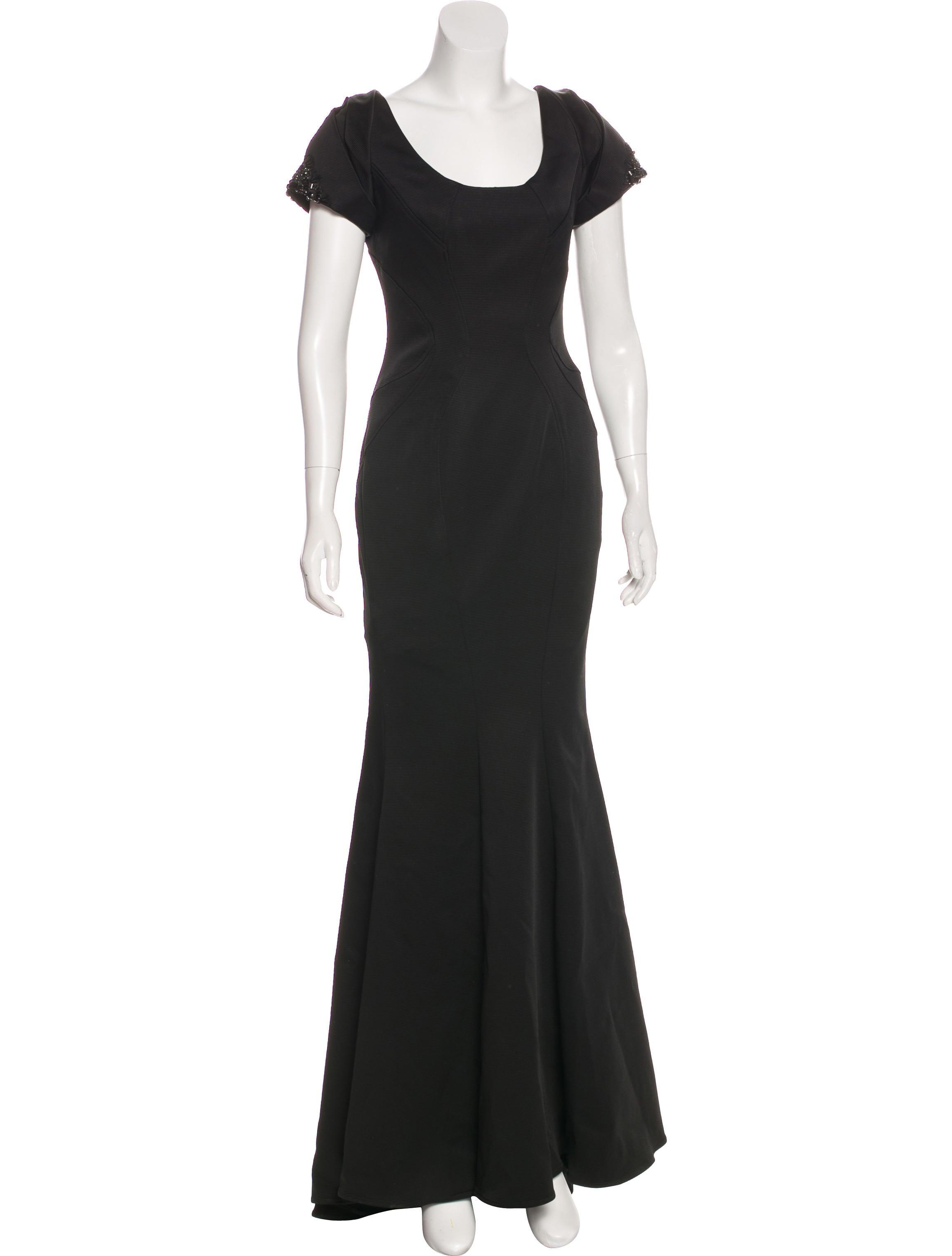 ZAC Zac Posen Embellished Evening Gown - Clothing - WZV22330   The ...