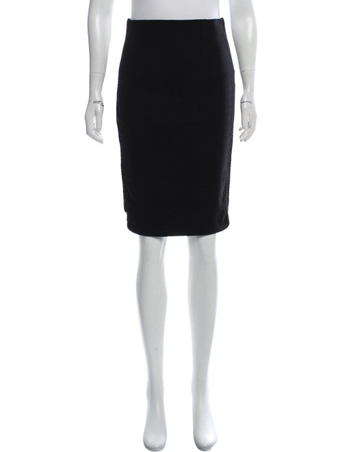 ZAC Zac Posen Knee-Length Skirt Black