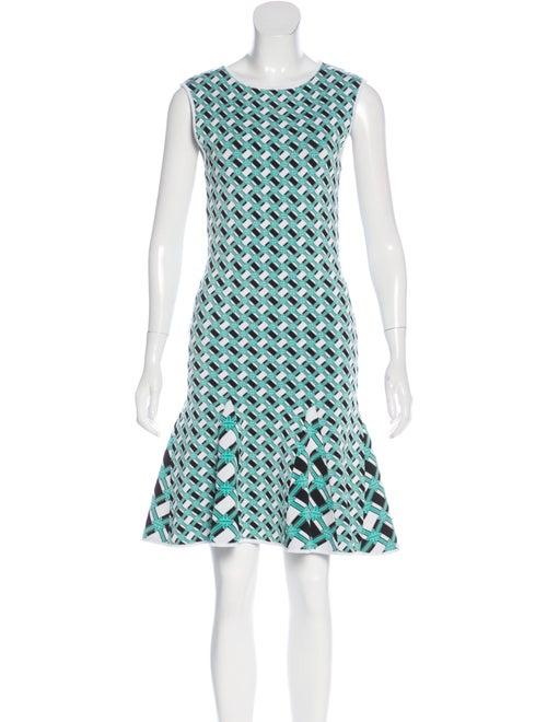 ZAC Zac Posen Printed Knee-Length Dress