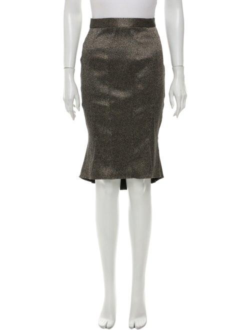ZAC Zac Posen Knee-Length Skirt Grey