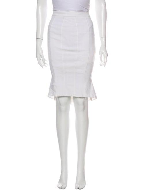 ZAC Zac Posen Knee-Length Skirt White