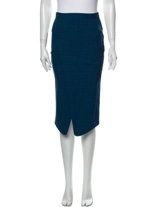 ZAC Zac Posen Knee-Length Skirt Blue