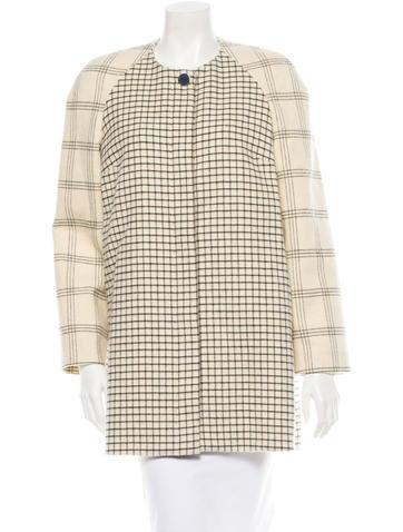 Wool Car Coat w/ Tags