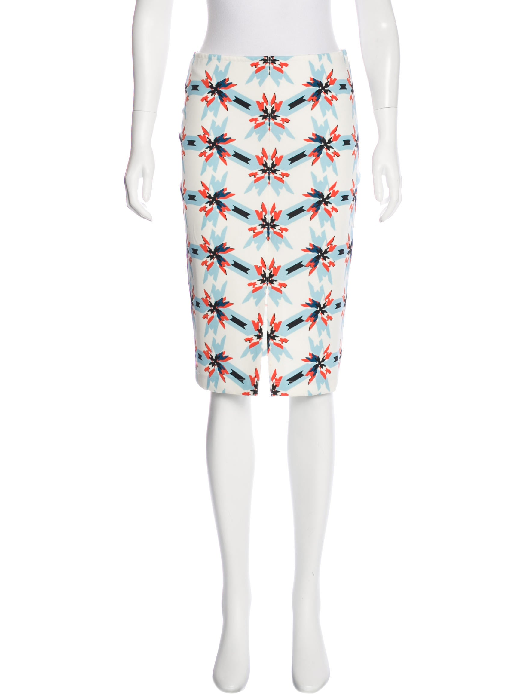 floral pencil skirt - photo #20