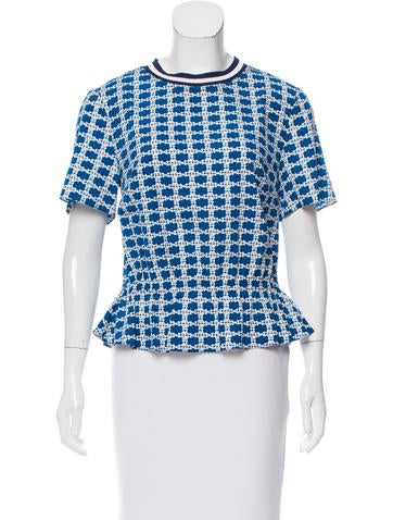 Tanya Taylor Maggie Silk Top w/ Tags None