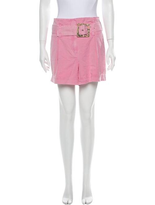 Tanya Taylor Mini Shorts Pink