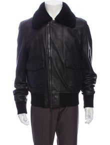 Farrell Calf Leather Trucker Jacket