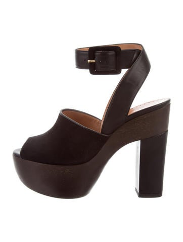 discount purchase for sale online store Alexa Wagner Suede Platform Sandals w/ Tags original for sale buy cheap real discount brand new unisex 6hyWt3NfL1