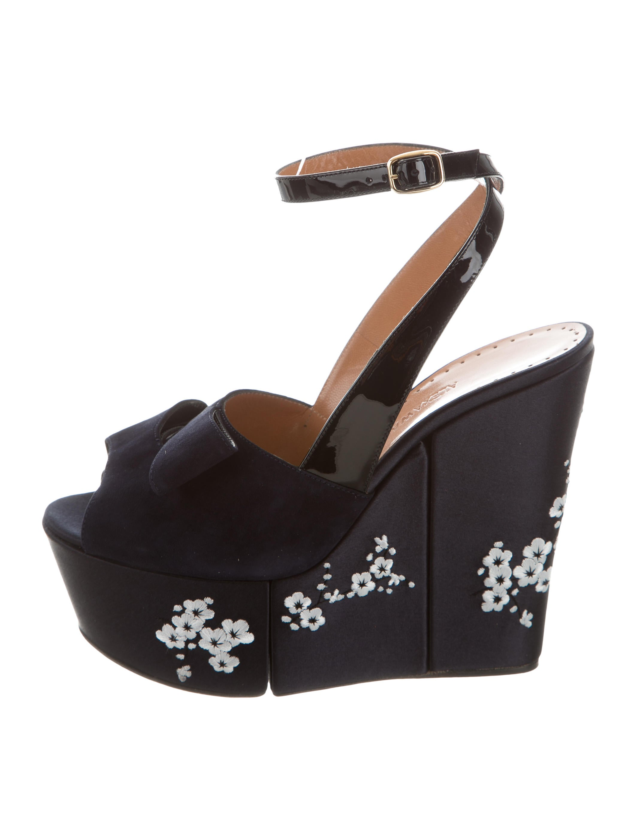 Alexa Wagner Labelle Embroidered Wedges official site cheap price 2CF0pQIu
