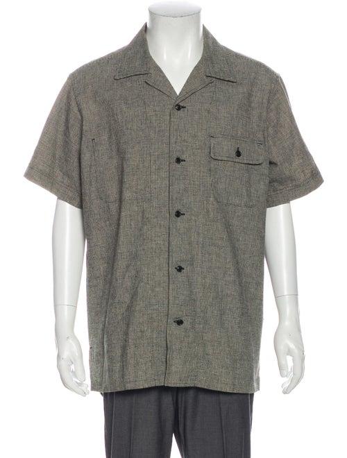 Yohji Yamamoto Pour Homme Linen Short Sleeve Shirt
