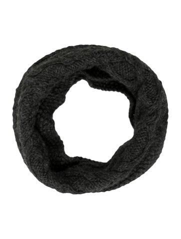 Yigal Azrouël Rib Knit Infinity Scarf None