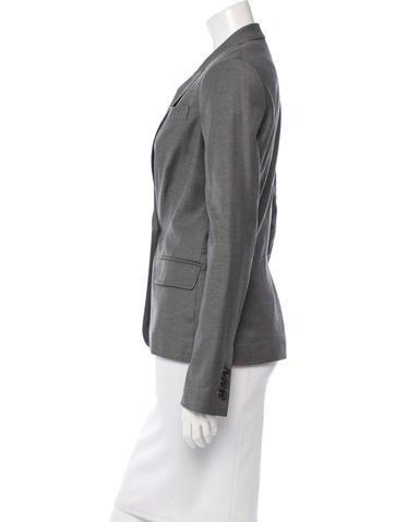 Tailored Notch Lapel Blazer