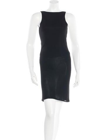 Yigal Azrouël Sleeveless Mini Dress