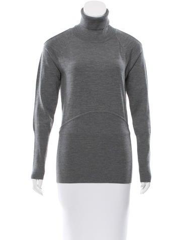 Yigal Azrouël Wool-Blend Turtleneck Sweater None