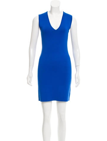 Yigal Azrouël Rib Knit Bodycon Dress None