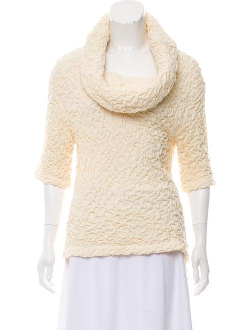 Yigal Azrouël Textured Knit Top