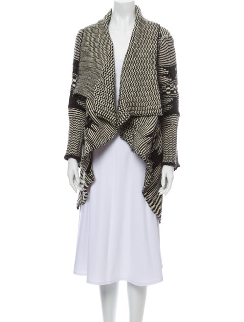 Yigal Azrouël Wool Striped Sweater Wool