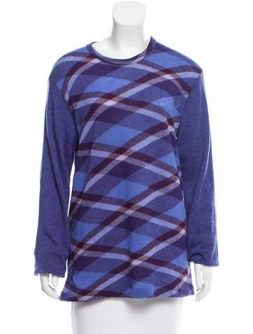 Yohji Yamamoto Patterned Wool Sweater None
