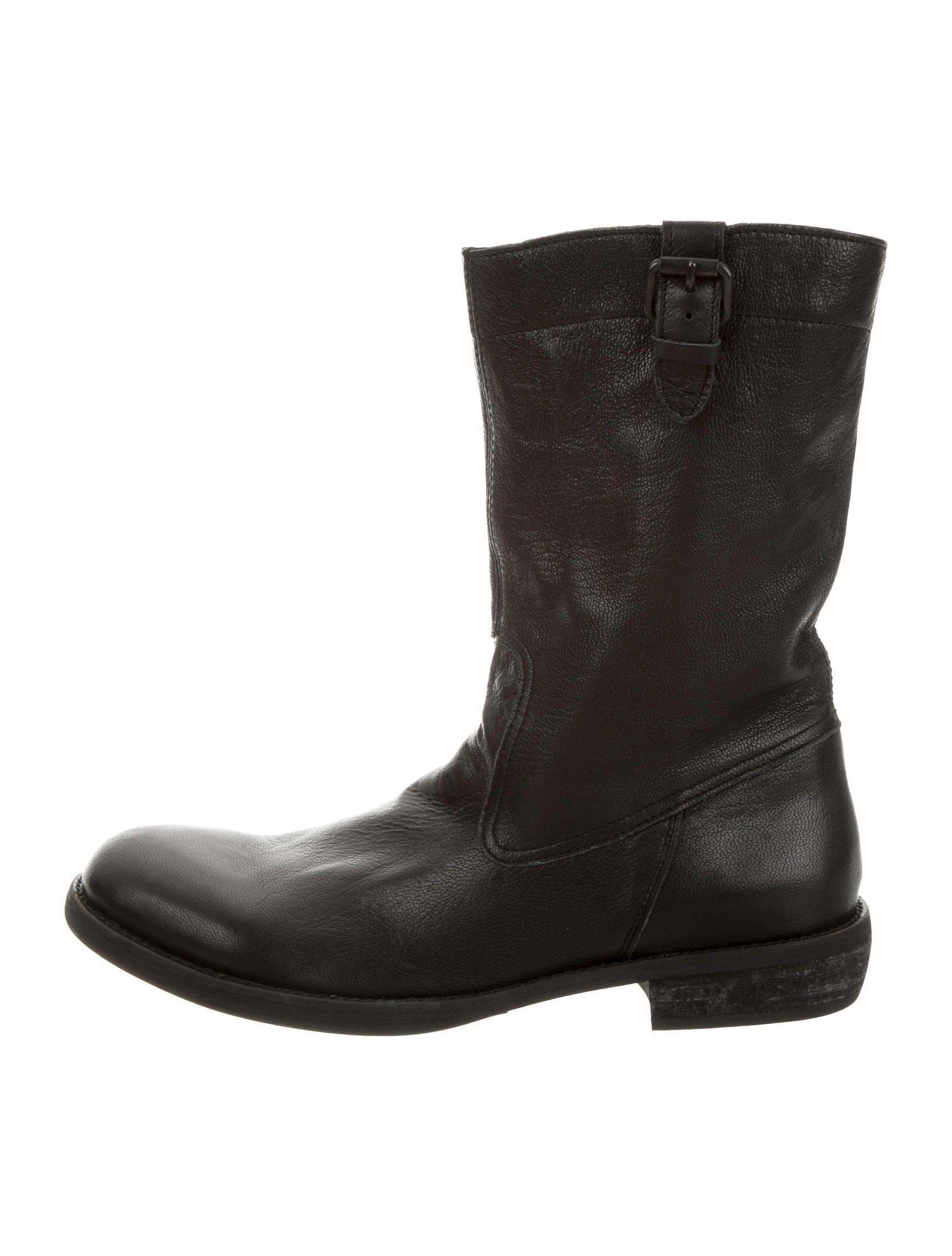 buy cheap Inexpensive discount 2014 unisex Yohji Yamamoto Leather Mid-Calf Boots GXXAU4on9u