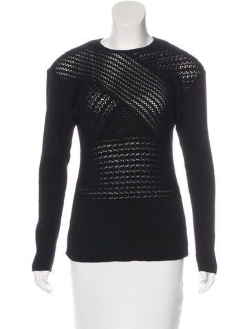 Yohji Yamamoto Wool Knit Sweater None
