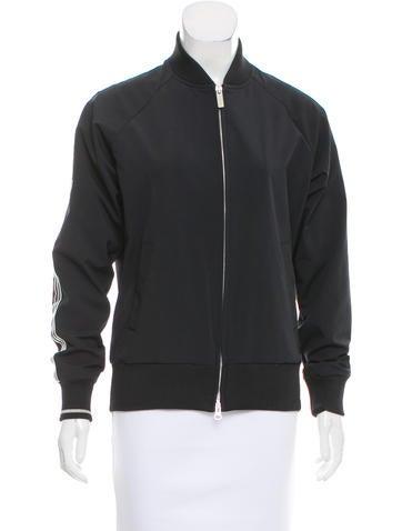 Yohji Yamamoto Striped Nylon Jacket None