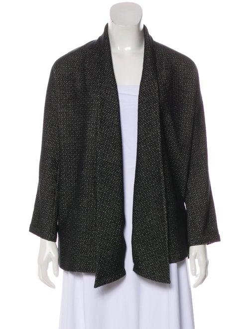 Yohji Yamamoto Wool Knit Cardigan Black