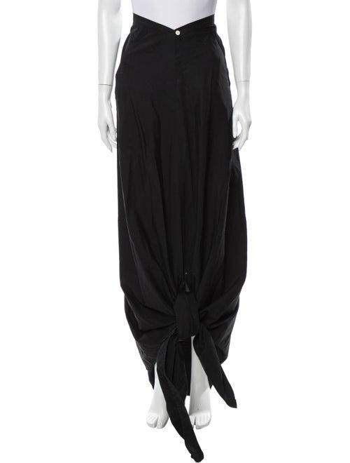 Yohji Yamamoto Long Skirt Black