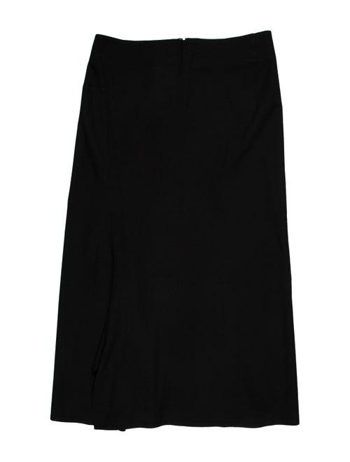 Yohji Yamamoto Knee-Length Skirt Black