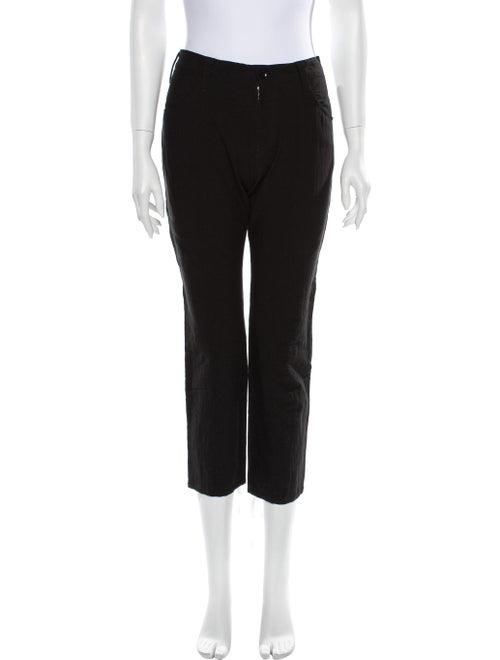 Yohji Yamamoto Straight Leg Pants Black