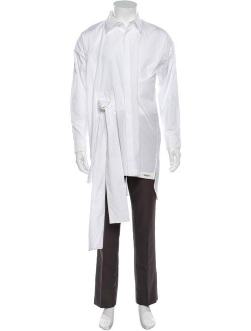 Yohji Yamamoto Long Sleeve Shirt White