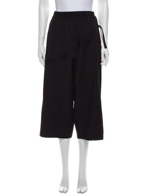 Yohji Yamamoto Wool Wide Leg Pants Wool