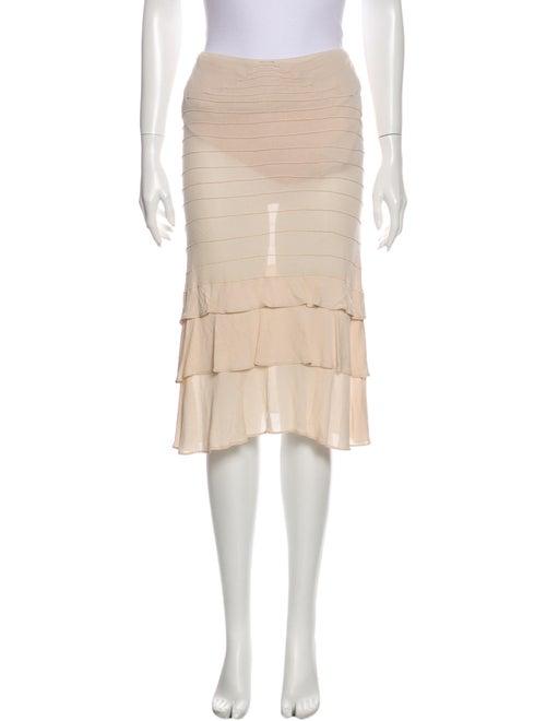 Yves Saint Laurent Rive Gauche Knee-Length Skirt