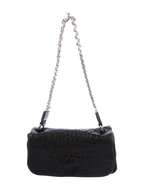 Yves Saint Laurent Rive Gauche Pebbled Leather Cha