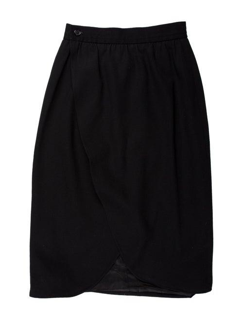 Yves Saint Laurent Rive Gauche Knee-Length Skirt B