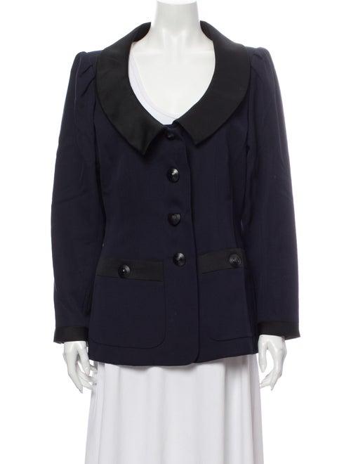 Yves Saint Laurent Rive Gauche Wool Evening Jacket