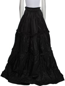 Yves Saint Laurent Rive Gauche Vintage Long Skirt