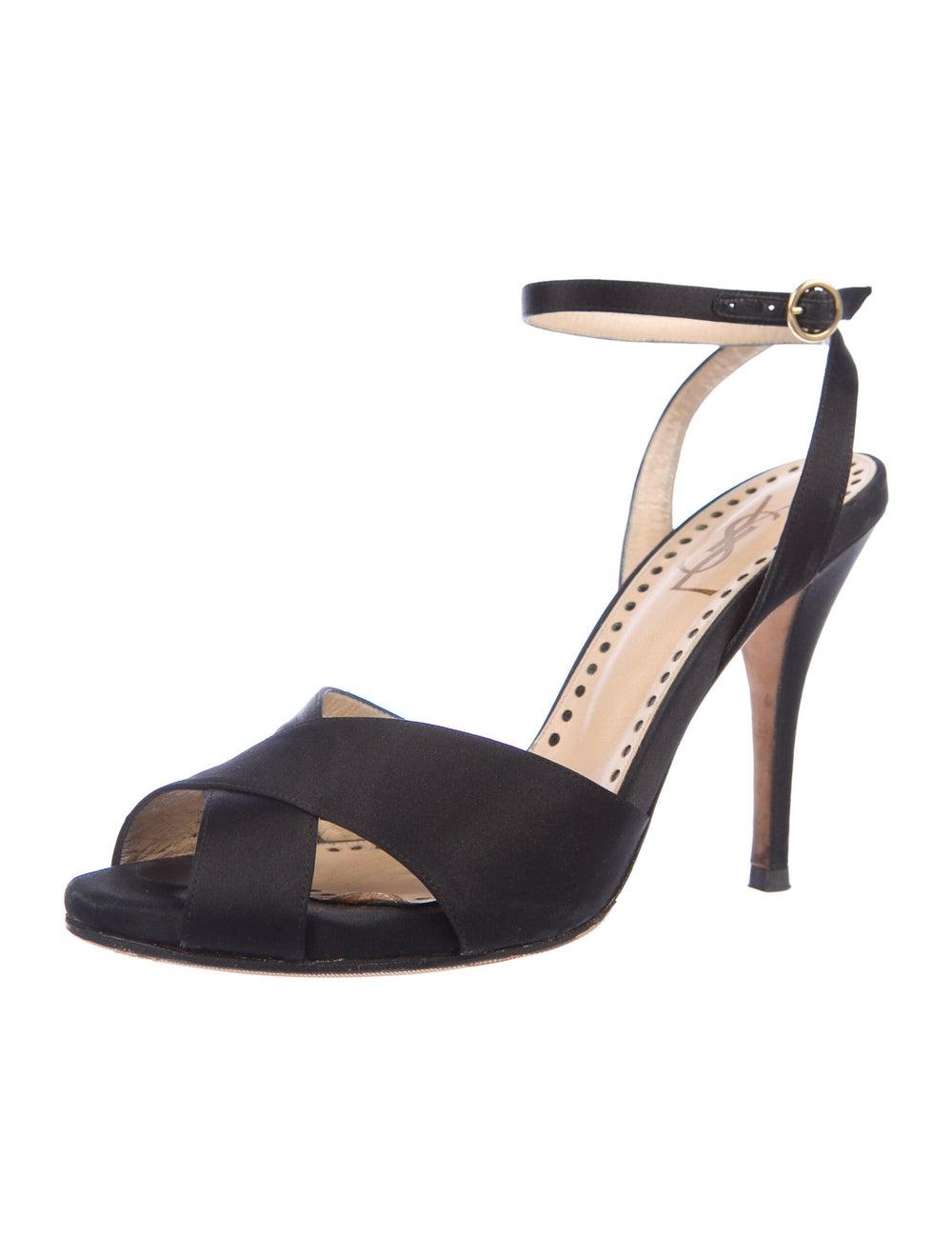 Yves Saint Laurent Rive Gauche Sandals Black - image 2
