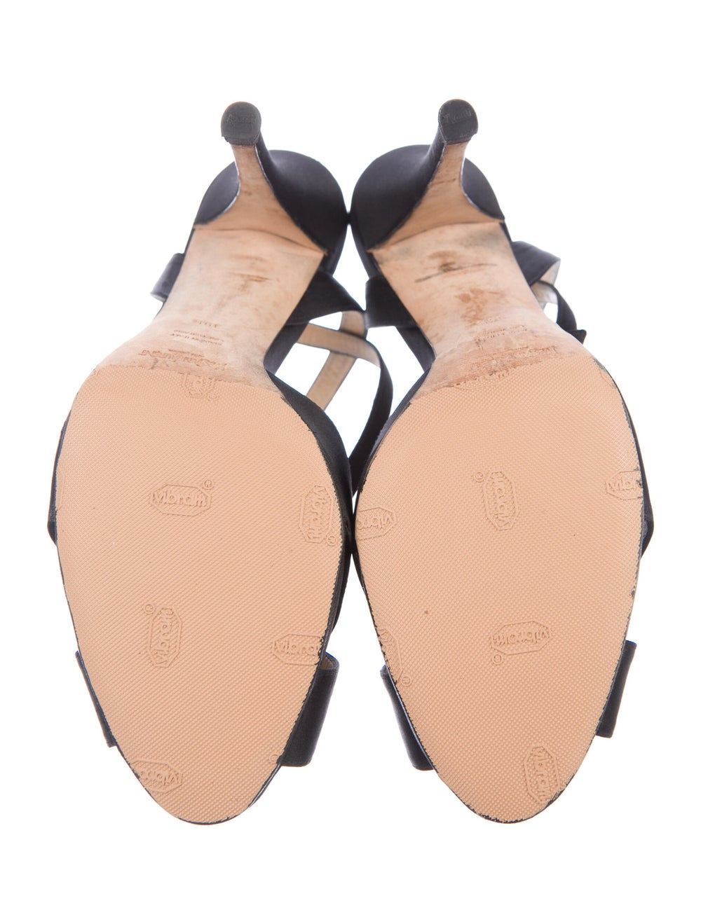 Yves Saint Laurent Rive Gauche Sandals Black - image 5