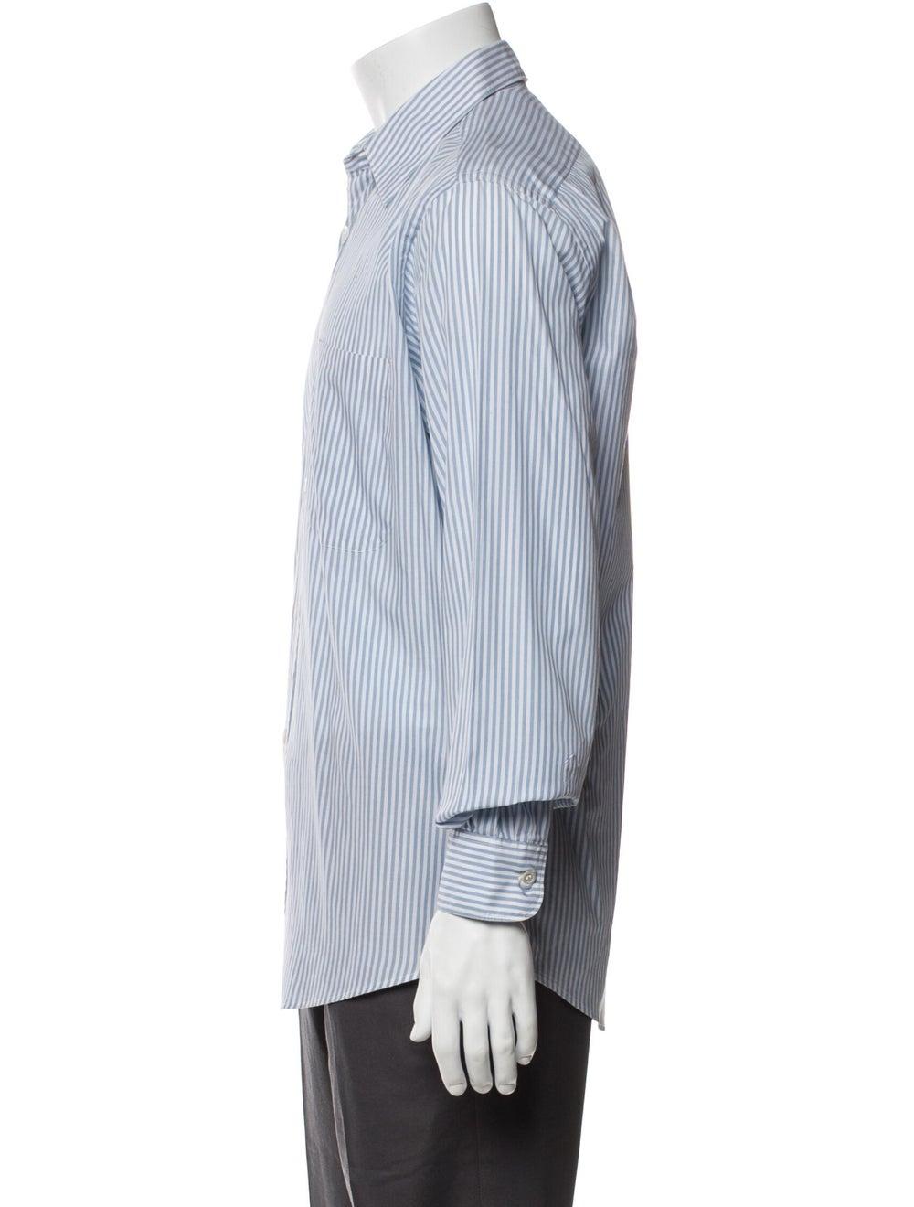 Yves Saint Laurent Rive Gauche Vintage Striped Sh… - image 2